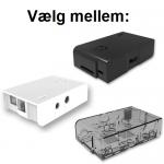 Case fra Multicomp til Raspberry Pi model B