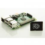 raspberry pi model b+ med 8gb micro sd-kort med image