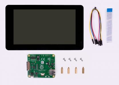 "7"" touchscreen display kit raspberry pi"