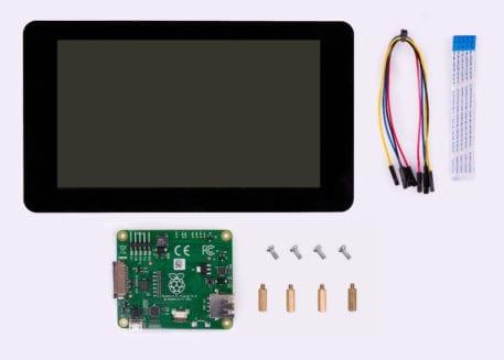 """7"""" touchscreen display kit raspberry pi"""