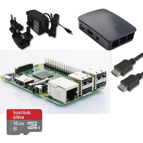 raspberrypi.dk starter kit med tilbehør