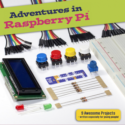 adventures in raspberry pi kit