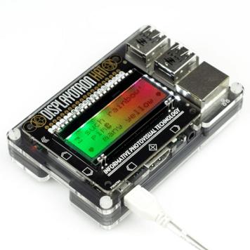 display o tron hat for raspberry pi