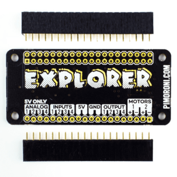 explorer phat for raspberry pi zero