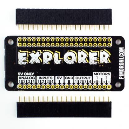 explorer phat for raspberry pi zero