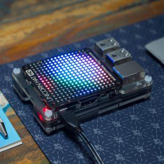 pimoroni unicorn hat raspberry pi rgb LEDs