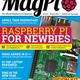 MagPi 65 raspberry pi magasin