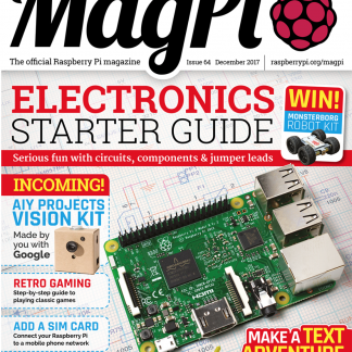 magpi 64 raspberry pi magasin