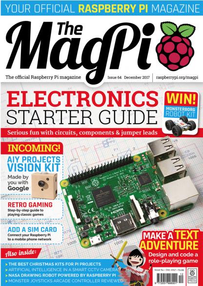 magpi 64 raspberry pi magasin
