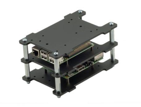 multi pi sort case til stabling af flere raspberry pi