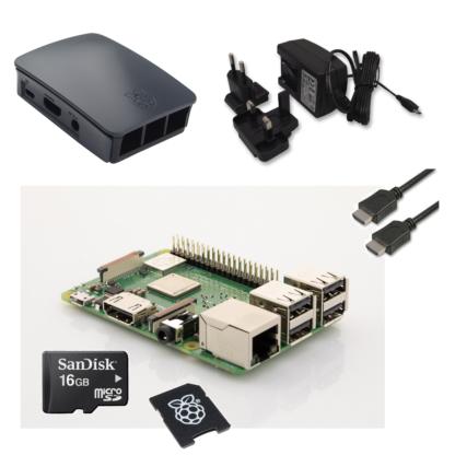 raspberry pi 3 model b+ startpakke