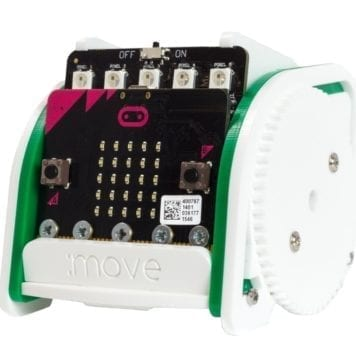 move mini buggy robot kit til microbit