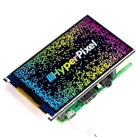 hyperpixel 4 diaplay uden touch raspberry pi