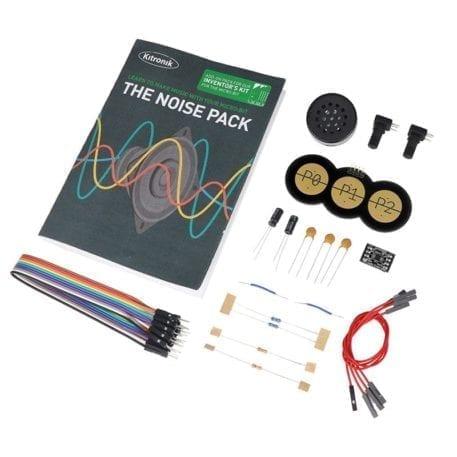 lyd pakke inventors kit højttaler kabler touch
