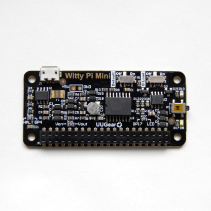 witty pi rtc strømstyring raspberry pi