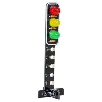 stop bit til microbit med trafiklys