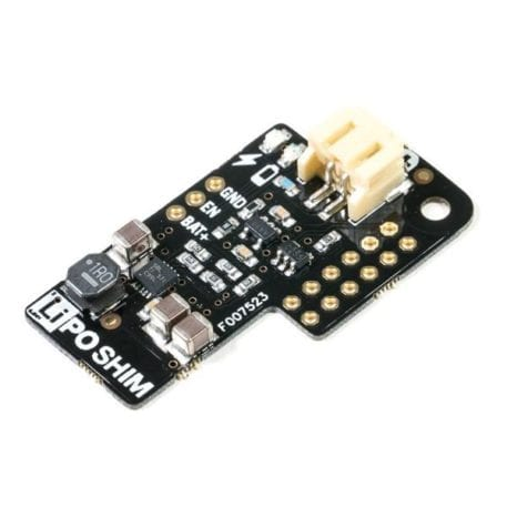 lipo shim batteri tilslutning til raspberry pi