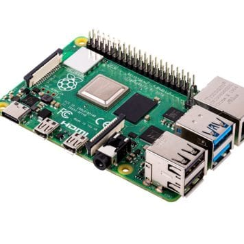 raspberry pi 4 model b, 1/2/4 gb memory