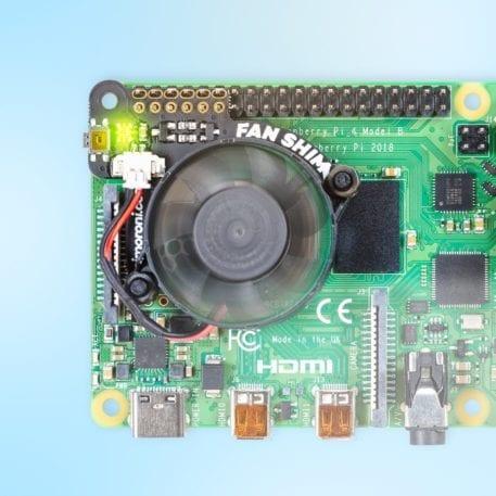 ventilator/fan shim raspberry pi