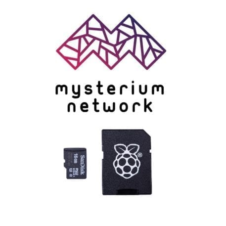 micro sd card 16 gb mysterium network node raspberry pi image
