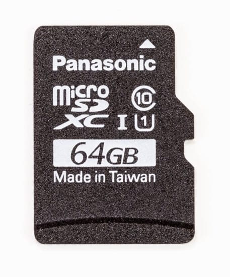 64 gb micro sd raspberry pi panasonic class a1
