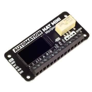 automation hat mini raspberry pi