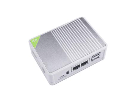 heatsink case dual gigabit board cm4 seeed